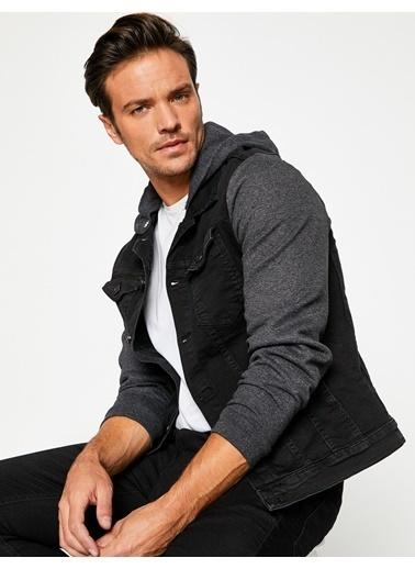 Koton Jean Ceket Siyah